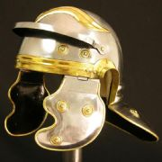 Roman Trooper Helmet - Imperial Gallic  - 18 Gauge